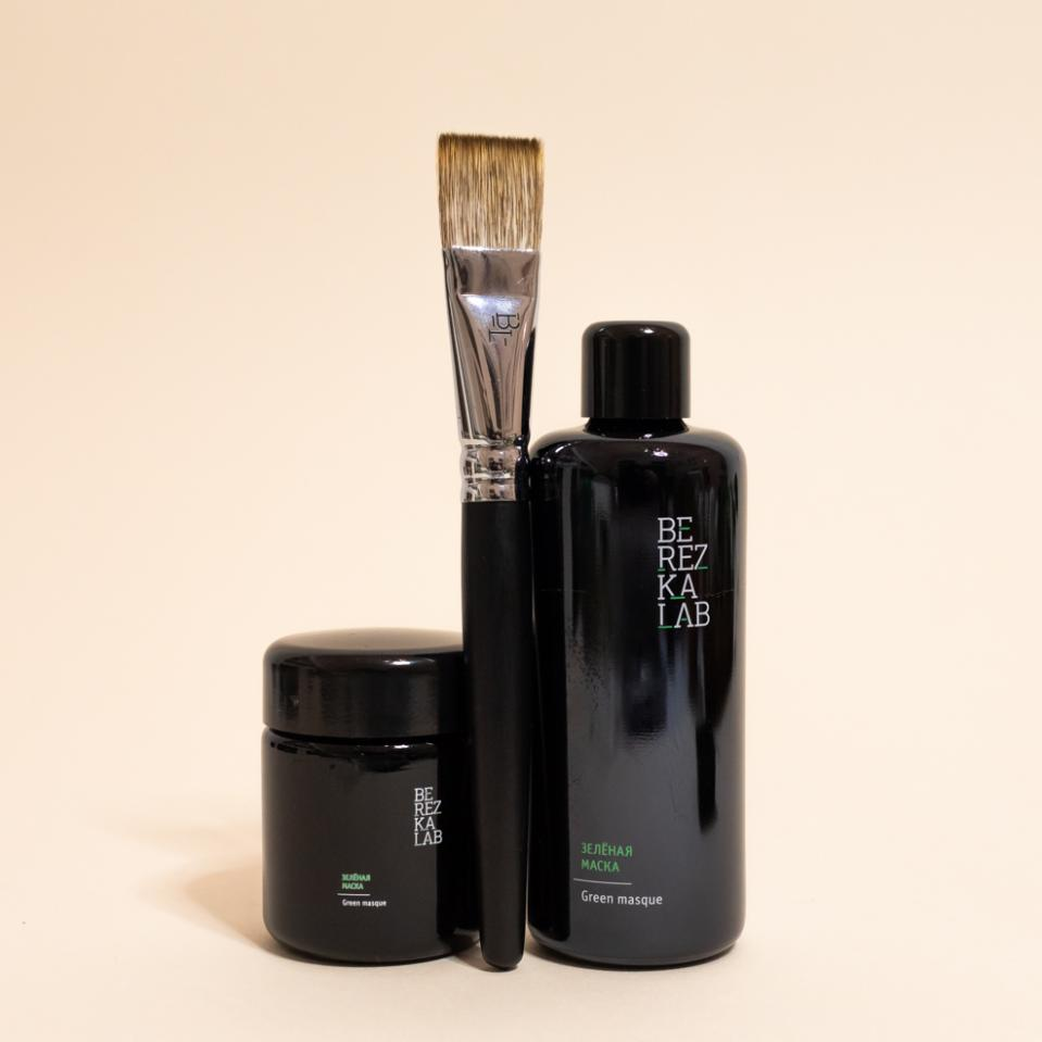 КИСТЬ ДЛЯ МАСКИ MASQUE BRUSH BEREZKA LAB