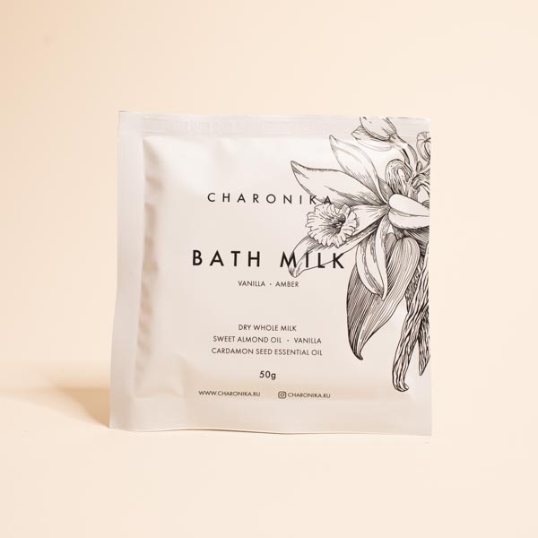 МОЛОКО ДЛЯ ВАННЫ BATH MILK TRAVEL SIZE CHARONIKA